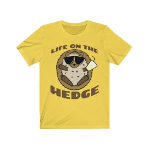 Life on the Hedge – Unisex Jersey Tee